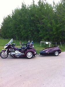 2006 Honda GL1800A TRIKE,, with tow trailer
