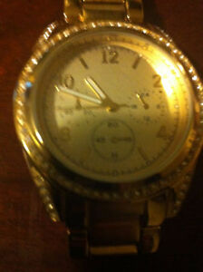 LOU LOU Gold Plated and White female watches water resistance London Ontario image 2