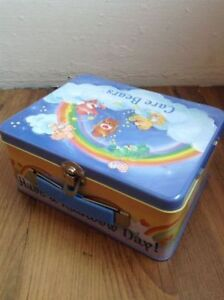 Metal Care Bear lunch box