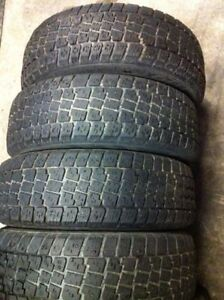 STUDDED 195/65/15 WINTER TIRES