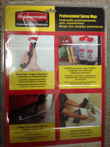 **NEW** Rubbermaid Professional Spray Mop Cambridge Kitchener Area image 5