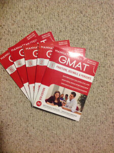 Manhattan Prep GMAT textbooks Quant Section Newest Edition