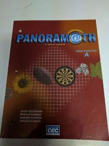 Manuel Panoramath 1er cycle du secondaire