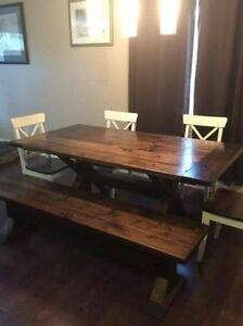 Custom Rustic Harvest Tables!