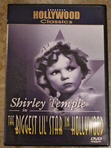 Shirley temple in the biggest Lil' star in Hollywood - DVD St. John's Newfoundland image 1