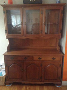 Roxton Solid Maple Buffet and Hutch