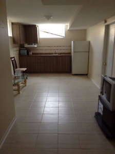 1 Bedroom Basement apartment available starting May 1st