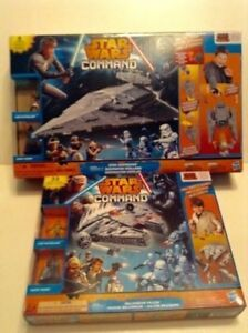 Two Star Wars Command Playsets