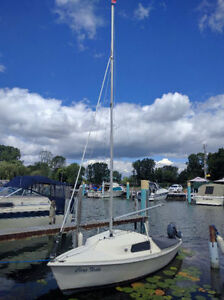 16 ft daysailer with 2003 Yamaha 4HP 4 stroke