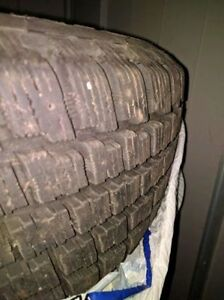 Like new winter tires with excellent tread! New price! - $550