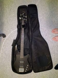 Black Ibanez bass guitar for sale!
