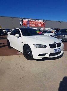 2008 BMW M3 E92 White 6 Speed Manual Coupe Wilson Canning Area Preview