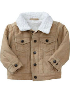 Sherpa Corduroy Jacket for Boys - Toddler (3T)