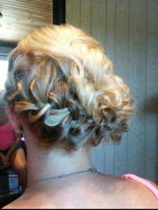 Travelling Hairstylist for bridal parties! London Ontario image 4