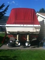 Clean 1979 Bay liner Bounty 2850 Twin 350 Volvo legs