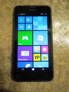 Nokia Lumia 635 Noir Windows 8 Déverrouillé