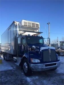 Kenworth 2009 Reefer Thermoking automatique 180 000kms Tailgate