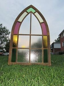 Antique Gothic Window