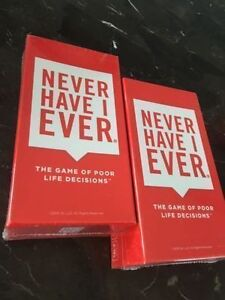 Never have I ever card game for adults - brand NEW