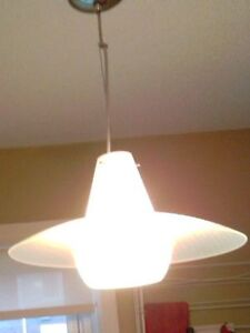 glass pendant light fixture