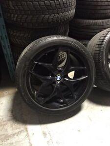 Mags 20 pouces BMW X5 X6 + pneus usagé RFT
