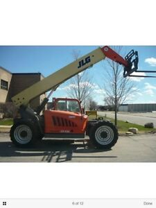 Telehandler for rent
