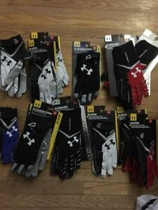 NEW Under Armour Football Gloves  $40-45 depending on style