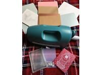 Craft scrapbooking teal grand calibur die cutting machine