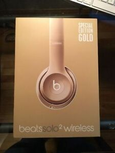 Beats Solo2 Wireless Special Edition Gold