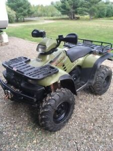 Polaris sportsman 500 runs great
