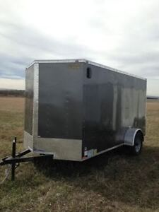 2016 Forest River Cargo Trailer GVWR 2990 Rear ramp door and sid