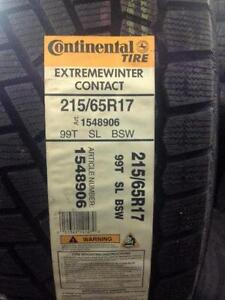 Brand New Continental Extreme Winter Contact 215/65R17