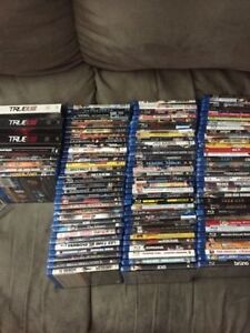 109 Blu Ray movies and 8 seasons. SEE LIST BELOW
