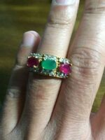 Great Valentine gift. Open to offers. Ladies Emerald, Ruby & Ter