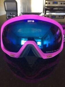 Spy Woman's Snowboard/Ski Goggles, Like New!