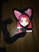 Cat Ears & Tail NEW