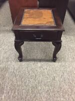 !! WORLD MAP COFFEE & END TABLE SET !! ONLY $450 BRAND NEW !!
