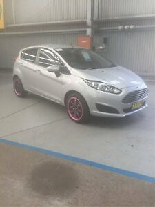 2014 Ford Fiesta WZ Ambiente PwrShift Silver 6 Speed Sports Automatic Dual Clutch Hatchback Maryville Newcastle Area Preview