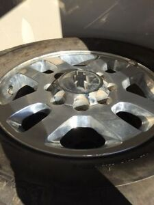 Stock Chev Rims and Tires w/ Full Size Spare