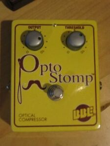 BBE OptoStomp Compressor