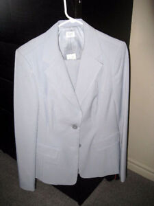 Business casual suit , light blue, NEW $ 15