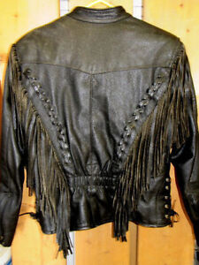 WOMEN'S SIZE 12 (FITS LIKE MED. Size 8-10), 100% LEATHER RIDING Stratford Kitchener Area image 2