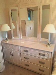 ONLINE ESTATE AUCTION (online ONLY) - dress, desk, chairs, lamps
