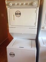 Whirlpool thin twin stackable washer & dryer