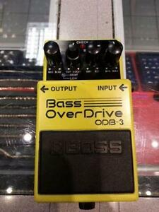 Boss Bass Overdrive Pedal.We sell used instruments.(#103745)