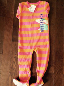 Carter's Toddler Footed Pajamas (size 4T) *NEW*