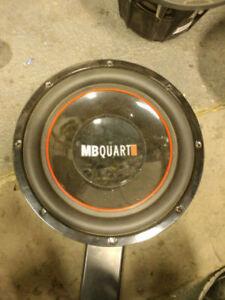 MB Quart ONX304 12 inch Subwoofer BRAND NEW