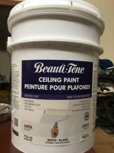 Ceiling Flat latex interior Paint 18.2 L sealed New