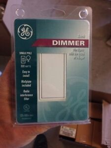 Touch dimmer single pole 600w NEUF