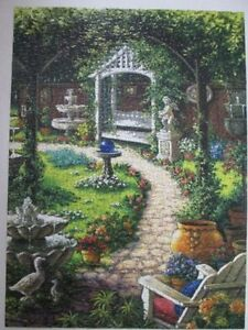 *Like New* Puzzle Gardens 500 Pieces